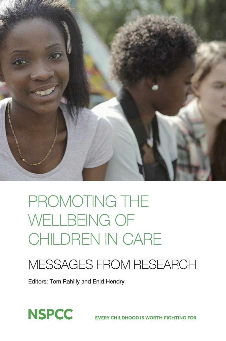 Promoting the wellbeing of children in care